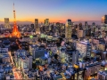 Japan city View.